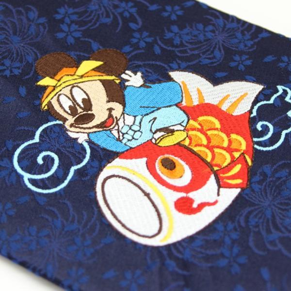 【2019年度分完売】名前旗 ディズニー ベビーミッキー ミッキー兜 五月人形 刺繍名入れ 生年月日入れ 数量限定|morisa8|02