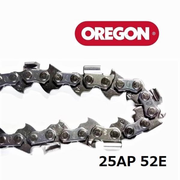 チェンソー替刃(チェーンソー刃)25AP52Eオレゴン(OREGON)ソーチェーン25AP052E
