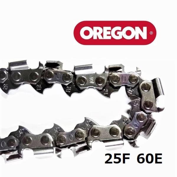 チェンソー替刃(竹切チェーン)25F60Eオレゴン(OREGON)ソーチェーンフルカッター25F060E