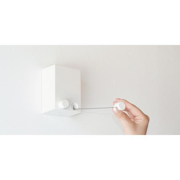 洗濯用品 室内物干しワイヤー pid4M( ピッドヨンエム)森田アルミ工業 物干し 部屋干し