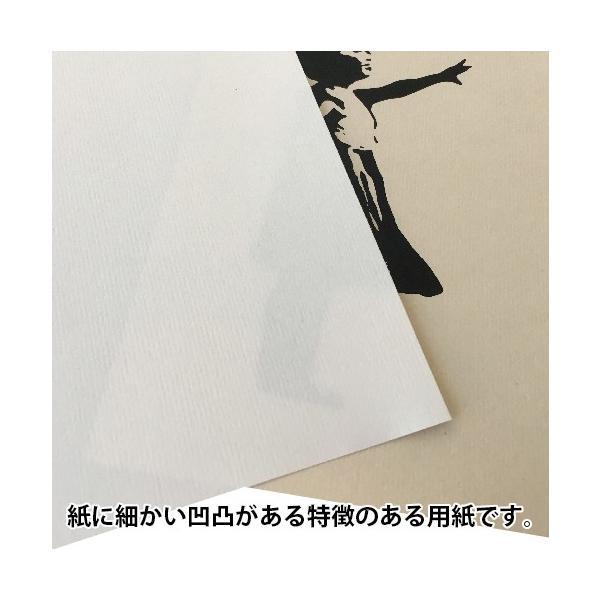 バンクシー BANKSY Girl-With-Balloon 風船と少女 デザインポスター アート A4サイズ 2タイプ|moriyama-print|04