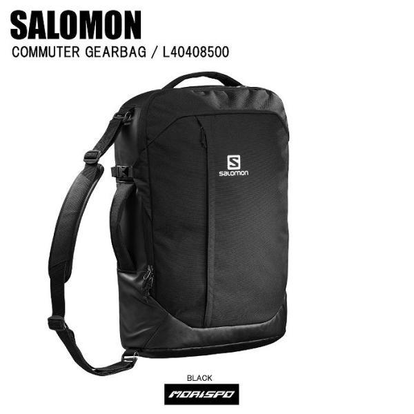 SALOMON サロモン COMMUTER GEARBAG コミューターギアバッグ L40408500 ブラック スキー ゲレンデ リュック 通勤 通学