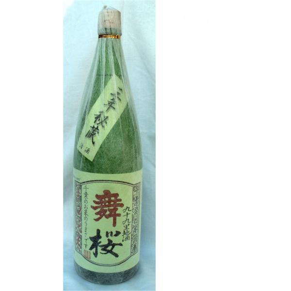 千葉の酒 舞桜 辛口純米 17度720ml|moriyasyuzo|02