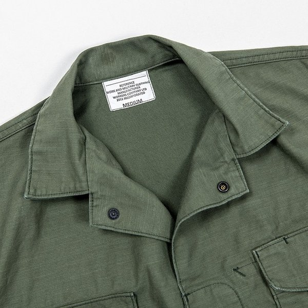 WORKERS/ワーカーズ Fatigue Shirt Mod, ファティーグシャツ 8 oz Reversed Sateen|morleyclothing|03