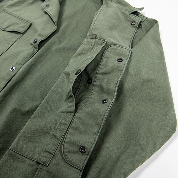 WORKERS/ワーカーズ Fatigue Shirt Mod, ファティーグシャツ 8 oz Reversed Sateen|morleyclothing|05
