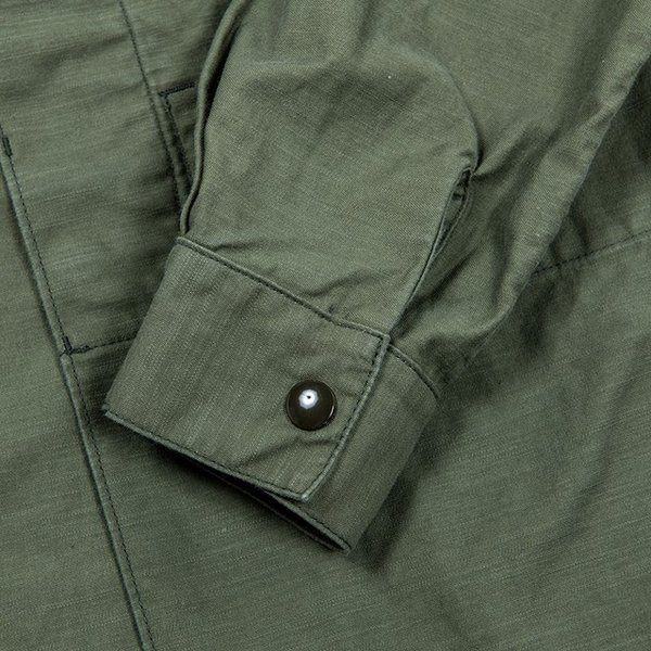 WORKERS/ワーカーズ Fatigue Shirt Mod, ファティーグシャツ 8 oz Reversed Sateen|morleyclothing|06