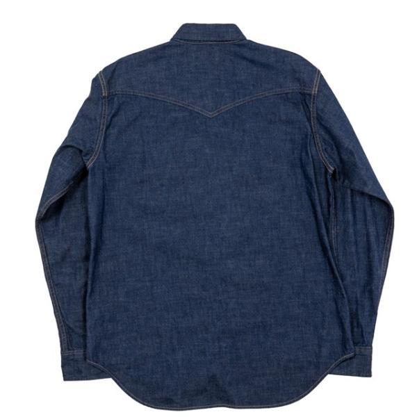 WORKERS/ワーカーズ Western Shirt 8 oz Indigo denim ウエスタンシャツ OW|morleyclothing|02