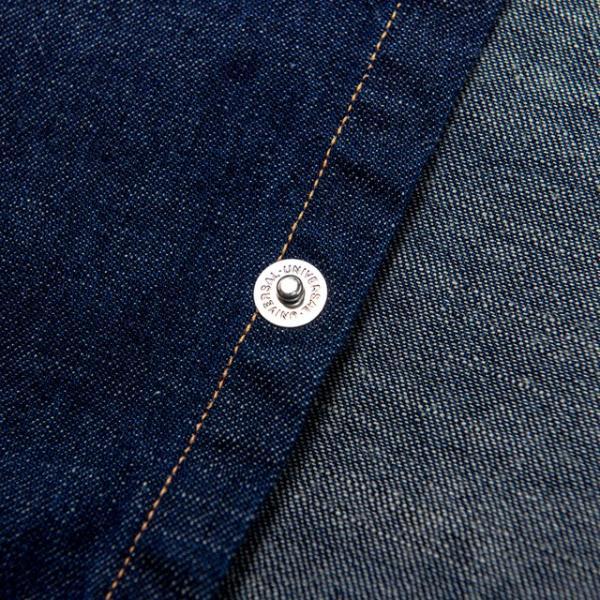 WORKERS/ワーカーズ Western Shirt 8 oz Indigo denim ウエスタンシャツ OW|morleyclothing|06