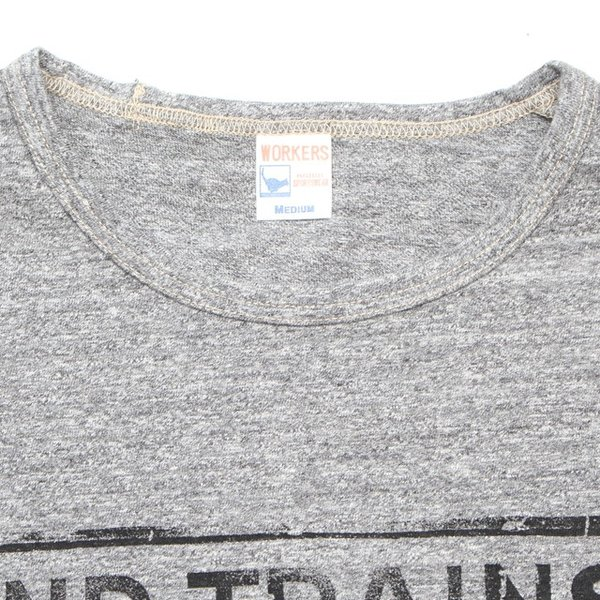 WORKERS/ワーカーズ SUWBAY-T Grey グレー|morleyclothing|02