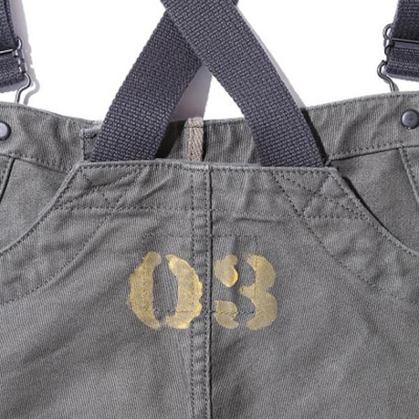 COLIMBO/コリンボ OLD MIDSHIPMEN'S BIB OVERRALL グログラン カスタム|morleyclothing|05