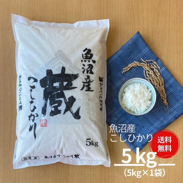 米 5kg 魚沼産 こしひかり コシヒカリ 蔵 令和2年産 本州送料無料