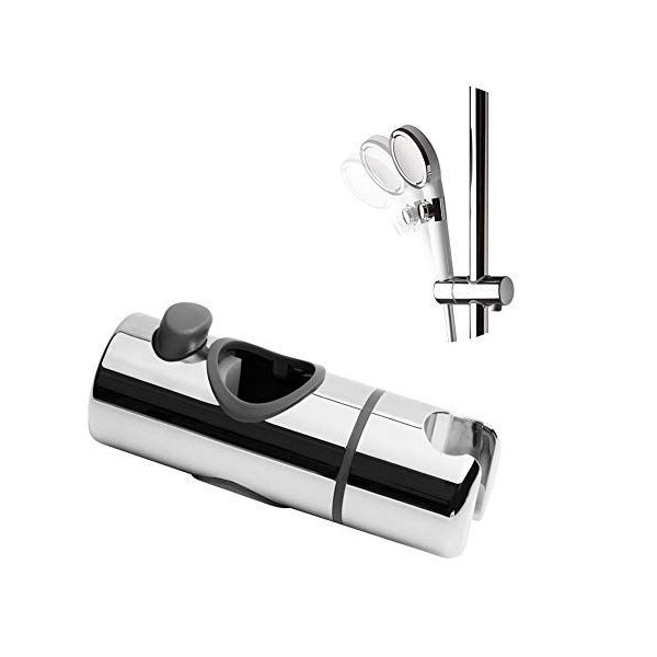 OFFOシャワーフック修理交換用32mmスライドバーに対応360°自由旋?取り付け簡単取扱説明書付き(19-25mm/30mm