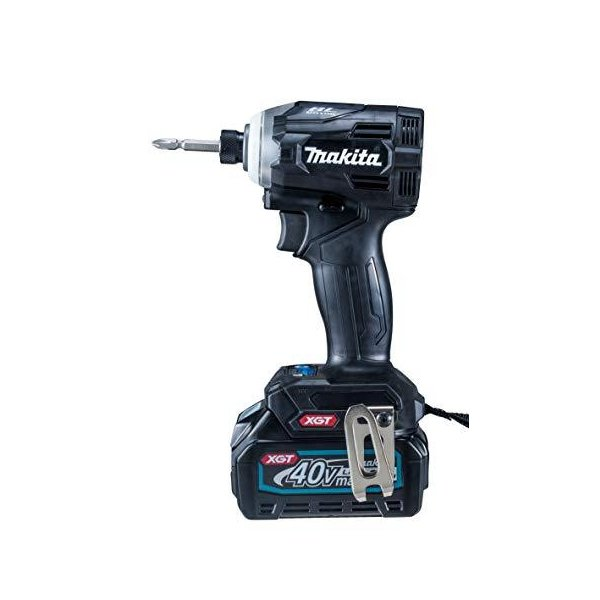 マキタ インパクトドライバ40VmaxTD001黒 トルク220Nm 2.5Ahバッテリ2本・充電器付 TD001GRDXB