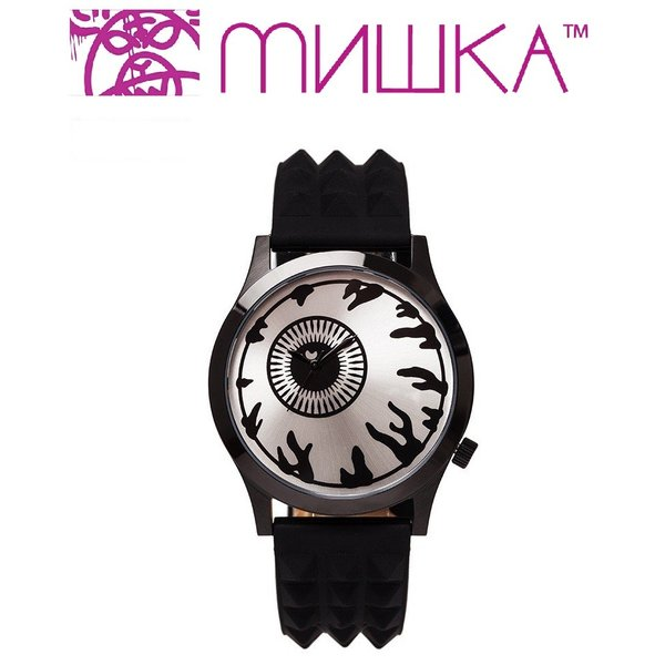 MISHKA x ALIVE: KEEP WATCH ミシカ 腕時計 BLACK|moshpunx