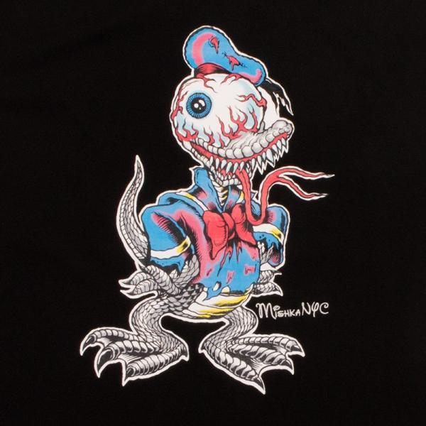 MISHKA LAMOUR MASCOT T-SHIRT ミシカ Tシャツ BLACK|moshpunx|03