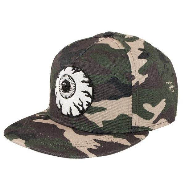 MISHKA CAMO KEEP WATCH SNAPBACK CAP ミシカ キャップ 迷彩|moshpunx|02