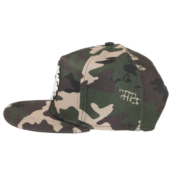 MISHKA CAMO KEEP WATCH SNAPBACK CAP ミシカ キャップ 迷彩|moshpunx|04