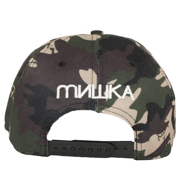 MISHKA CAMO KEEP WATCH SNAPBACK CAP ミシカ キャップ 迷彩|moshpunx|05