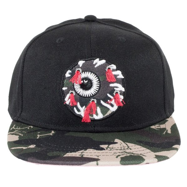 MISHKA GUNSHOT CAMO KEEP WATCH SNAPBACK CAP ミシカ キャップ|moshpunx