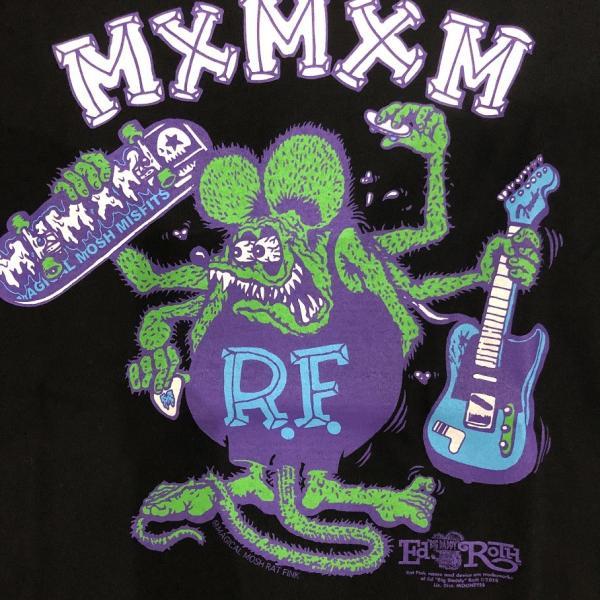 RATFINK x MxMXM MAGICAL MOSH RATFINK LONG TEE ラットフィンク マジカルモッシュミスフィッツ ロングTシャツ|moshpunx|04