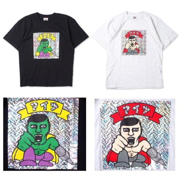 PUNKDRUNKERS シールTEE ASH パンクドランカーズ Tシャツ|moshpunx