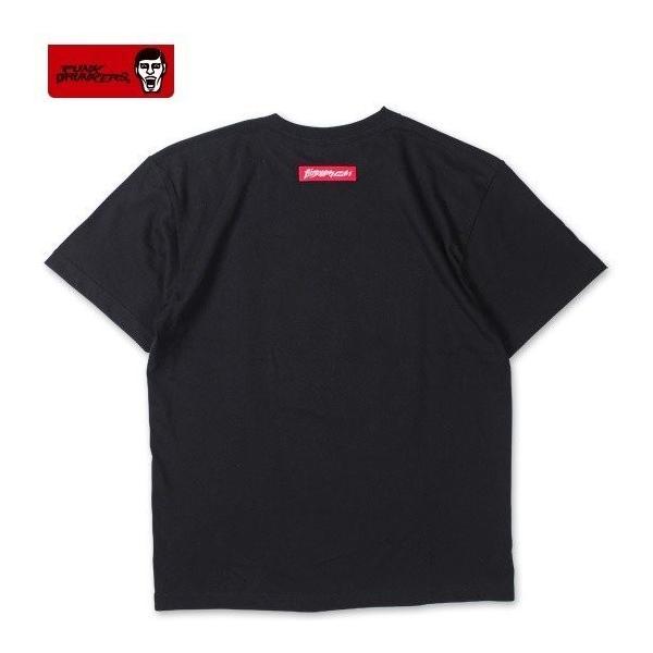 PUNKDRUNKERS シールTEE ASH パンクドランカーズ Tシャツ|moshpunx|03