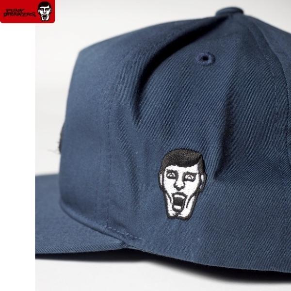 PUNKDRUNKERS Punkd.CAP NAVY パンクドランカーズ キャップ|moshpunx|04