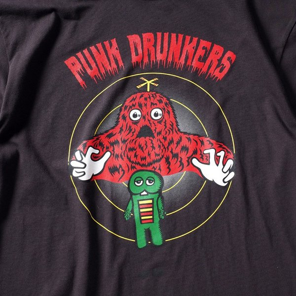 PUNKDRUNKERS x ガチャピン・ムック コントロールTEE パンクドランカーズ|moshpunx|06