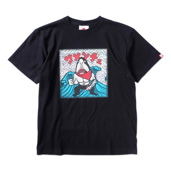 PUNKDRUNKERS 鮫人シールTEE パンクドランカーズ moshpunx 02