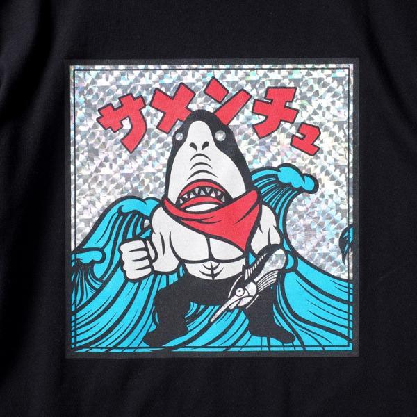 PUNKDRUNKERS 鮫人シールTEE パンクドランカーズ moshpunx 06