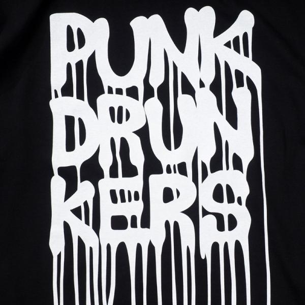 PUNKDRUNKERS ダラダラロゴBIG.TEE / O.Fシリーズ パンクドランカーズ moshpunx 04