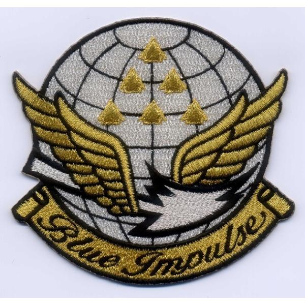 航空自衛隊ブルーインパルス(マーク金)パッチ