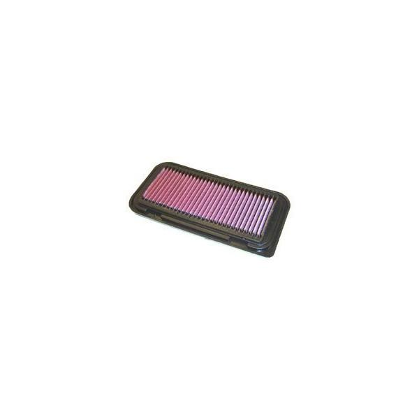 K&N REPLACEMENT FILTER エアフィルター TOYOTA ファンカーゴ NCP20 99.08-05.10 2NZ-FE 1300 〔33-2211〕