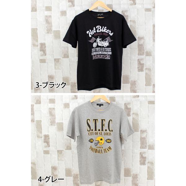 Tシャツ メンズ プリントTシャツ 半袖Tシャツ アメカジ カットソー ロゴT 文字 クルーネック 柄 パターン|mostshop|06