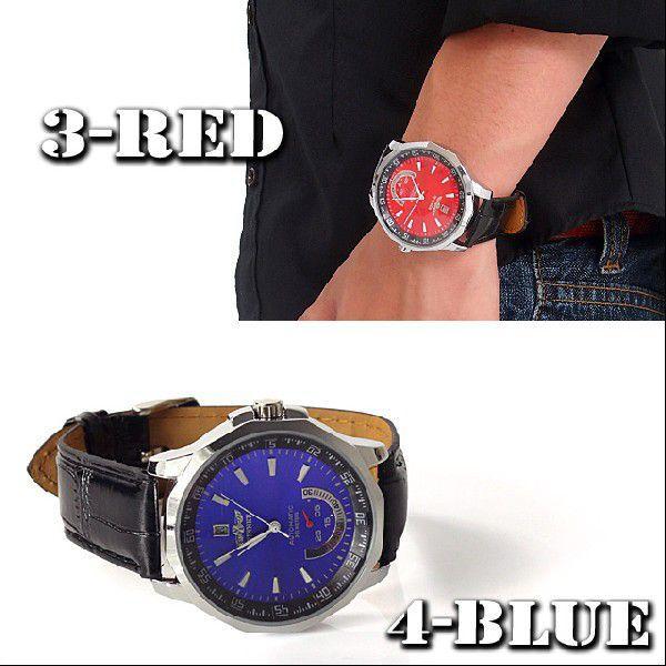 腕時計 メンズ 腕時計 自動巻き オートマチック ビッグフェイス ウォッチ mostshop 05