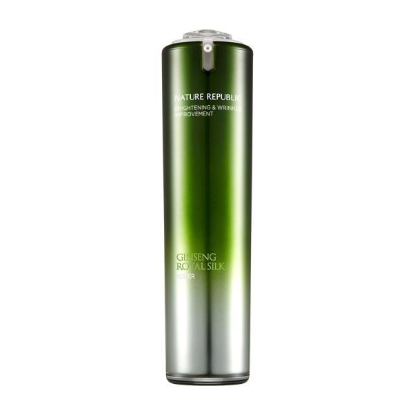 ネイチャーリパブリック ジンセンロイヤルシルクトナー  120ml 韓国コスメ 化粧水 スキンケア   NATURE REPUBLIC Ginseng Royal Silk Toner|motions-shop