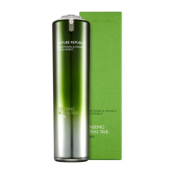 ネイチャーリパブリック ジンセンロイヤルシルクトナー  120ml 韓国コスメ 化粧水 スキンケア   NATURE REPUBLIC Ginseng Royal Silk Toner|motions-shop|04