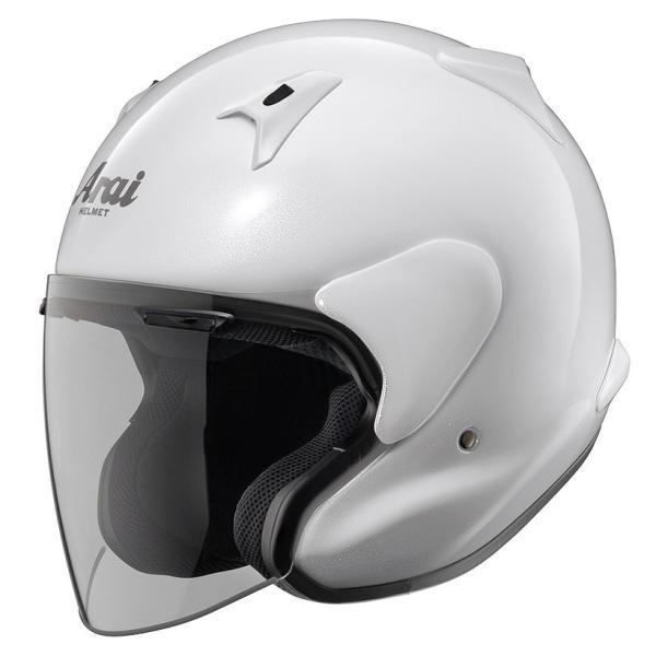 ARAIアライジェットヘルメットMZ-F(エムゼットエフ)グラスホワイトMサイズ57-58cm