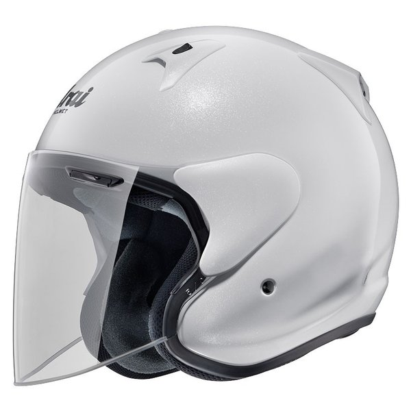 ARAIアライジェットヘルメットSZ-G(エスゼットジー)グラスホワイトLサイズ59-60cm