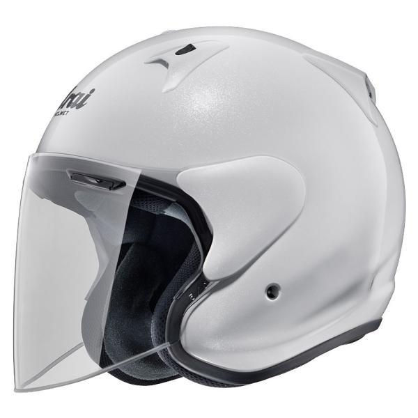 ARAIアライジェットヘルメットSZ-G(エスゼットジー)グラスホワイトMサイズ57-58cm