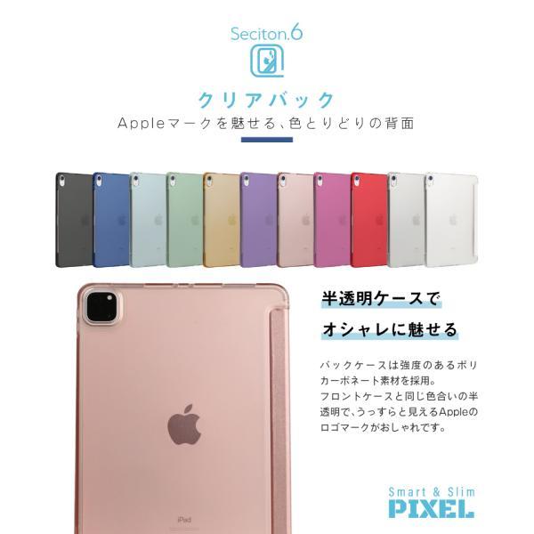 iPad ケース 強化ガラスフィルムセット PIXEL mini5 2019 2018 2017 iPad5 iPad6 Pro 9.7 Pro 10.5 pro11 mini 4 Air Air 2 Air3 第6世代 第5世代|moto84|17
