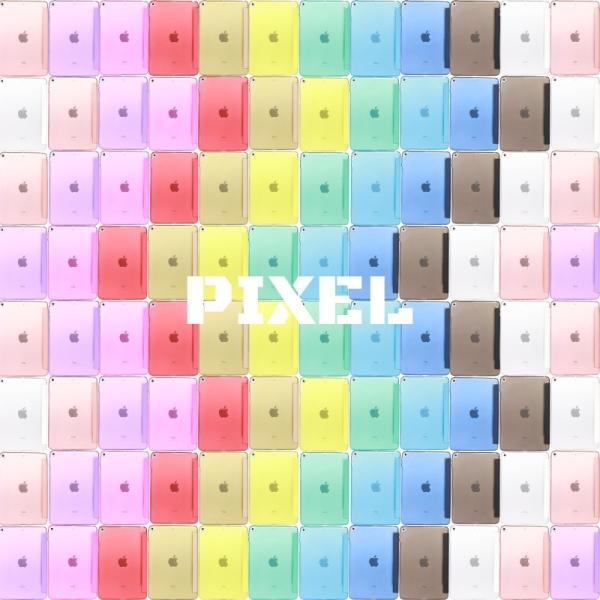 iPad ケース 第7世代 10.2インチ 第6世代 A1954 2018 2017 iPad2 iPad3 iPad4 ケース 一体型 三つ折りカバー クリアケース 第5世代 軽量・極薄タイプ PIXEL|moto84|02