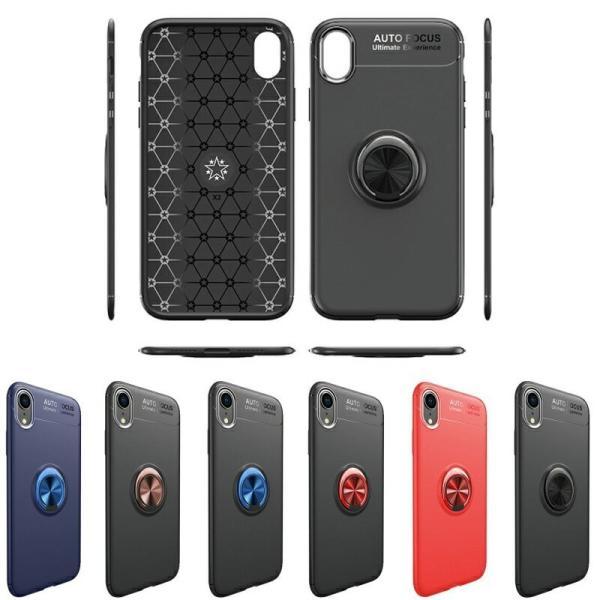 リング付きiPhoneケース スタンドにもなる iPhone XS XS MAX XR 7 8 7Plus 8Plus ケース TPUソフトケース カバー 回転リング スタイリッシュ|moto84|11