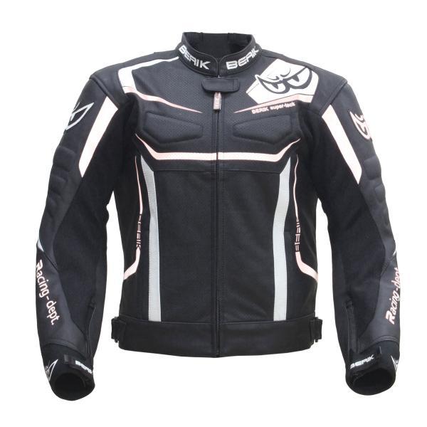 予約販売 BERIK ベリック レザージャケット 191326 BLACK バイクウェア レザーパンツ結合可能 【バイク用品】
