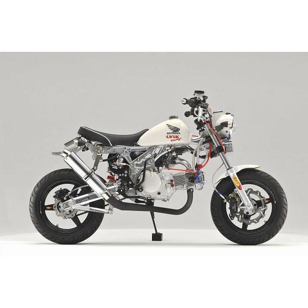 OVER オーヴァー RACING-DOWN ブラックマフラー(スチールEXP) MONKEY|motoism