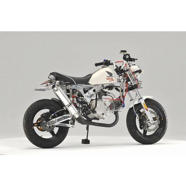 OVER オーヴァー RACING-DOWN ブラックマフラー(スチールEXP) MONKEY|motoism|02