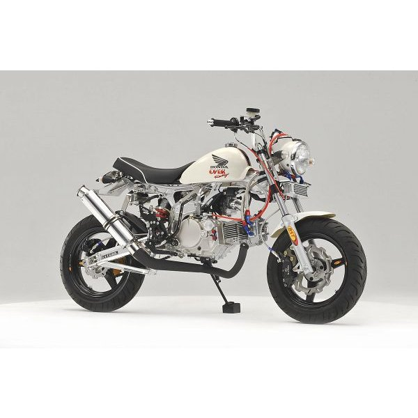 OVER オーヴァー RACING-DOWN ブラックマフラー(スチールEXP) MONKEY|motoism|03