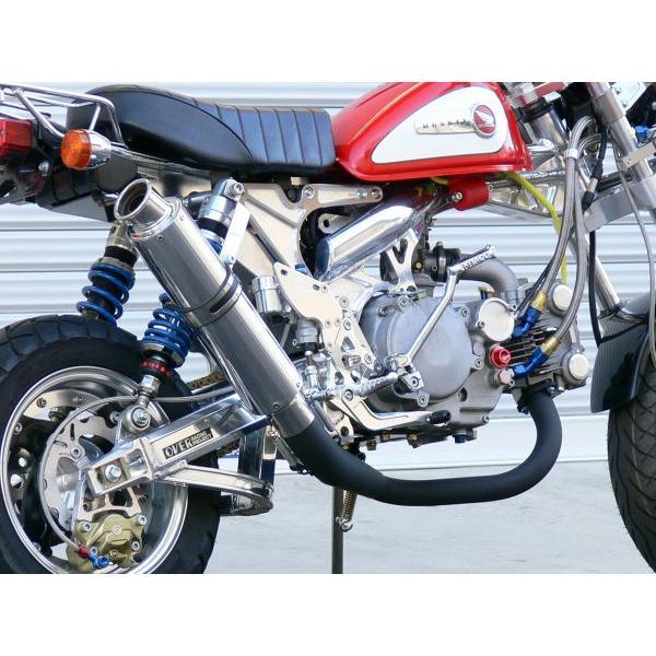 OVER オーヴァー RACING-DOWN ブラックマフラー(スチールEXP) MONKEY|motoism|04