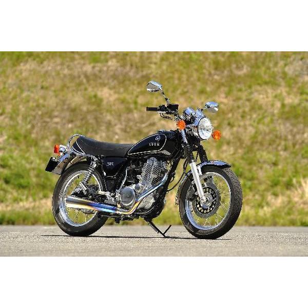 OVER オーヴァー チタンメガホンマフラー MANXタイプ SR400(FI)|motoism|02