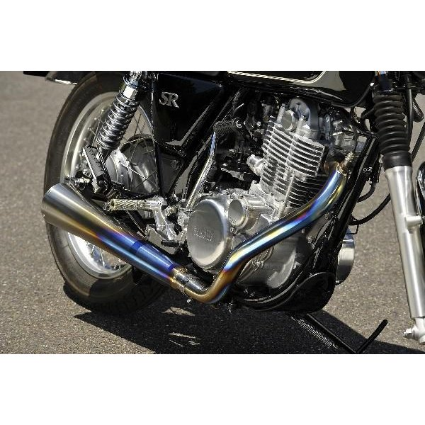 OVER オーヴァー チタンメガホンマフラー MANXタイプ SR400(FI)|motoism|05